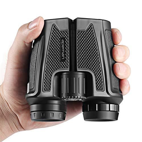 12×25 prismáticos binoculares plegable