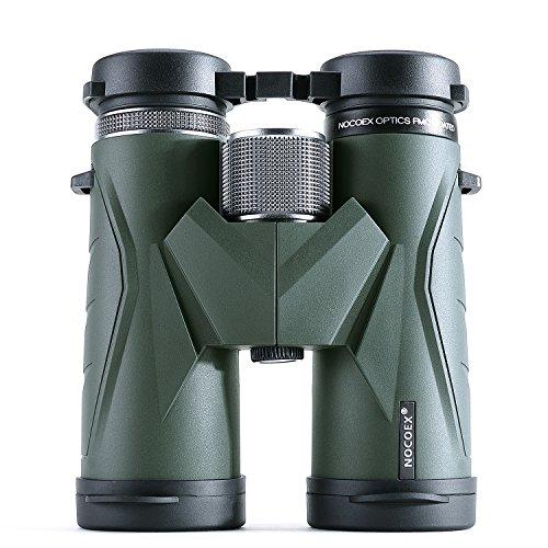 10×42 profesionales prismáticos con prisma tipo «roof» con bolsa detransporte y correa