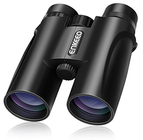 10 x 42 prismáticos binoculares plegables de alta resolución y largo alcance con prisma bak-4 nítida vista
