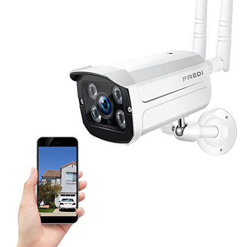 720p wifi wireless ip security cámara bala