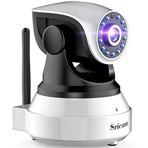 Ip cámara wifi leshp camaras de vigilancia inalámbrico hd zoom p2p ir vision nocturna con micrófono y altavoz