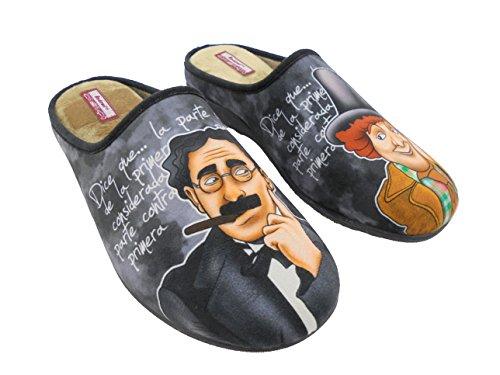 Zapatillas de estar por casa para hombre hermanos marx mod.529
