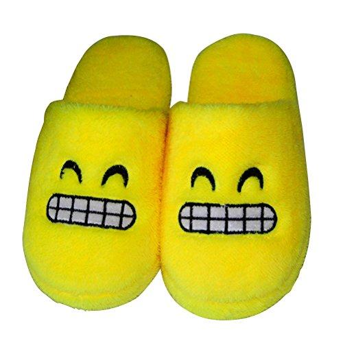 Zapatillas de estar por casa pantuflas invierno zapatillas felpa antideslizante para hombre mujer