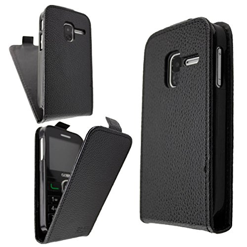 Alcatel 2008g funda flip cover de caseroxx