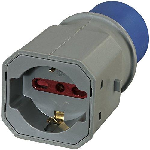 80863 adaptador enchufe a 3 polos industrial iec enchufe polivalente