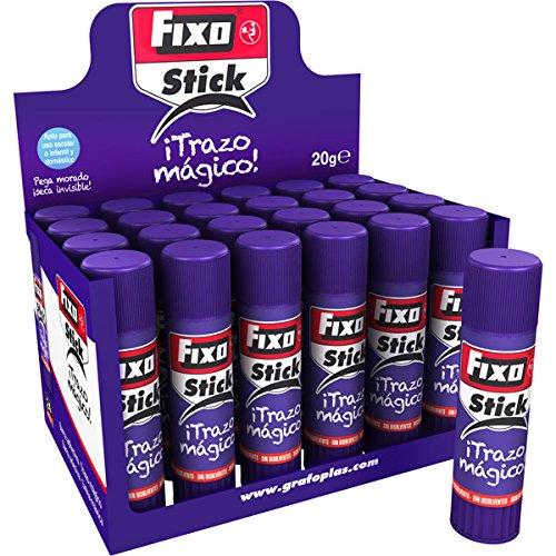 Fixo stick 00020535-caja de 24 barras de pegamento trazo mágico de 20g