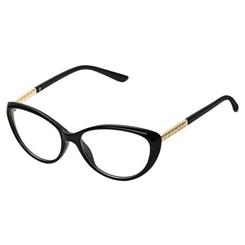 b3e165ec48 Montura para gafas de vista mujer ojos de gato lente transparentes unisexo  hombre