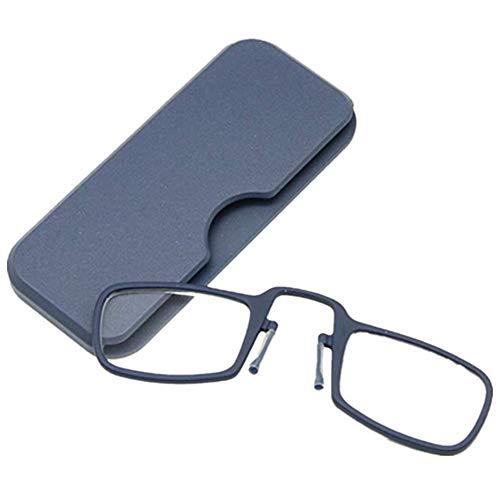 ad5dca530e Gafas de lectura sin patillas graduadas para unisex transparentes flexibles  e para vista cansada 5 colores