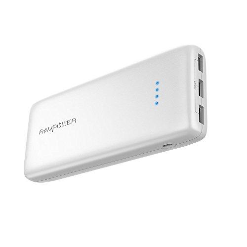 Bateria externa 22000mah 3 puertos usb entrada 5.8a
