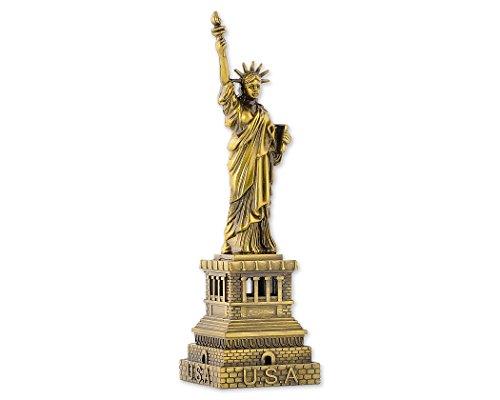 Dsstyles estatua de la libertad modelo estatua de la libertad estatua metálica estatua de la libertad figurita para recuerdos