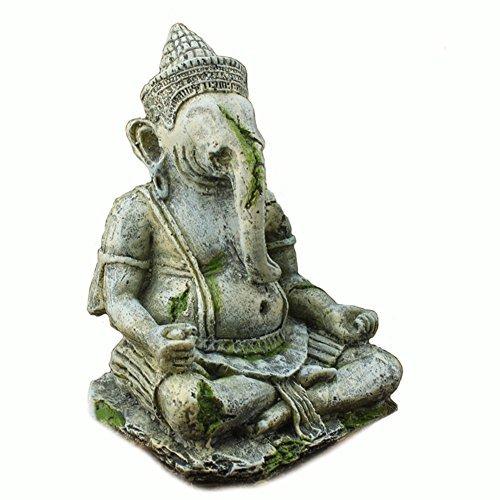 Fish tank decoración ganesha estatua de buda acuario adornos