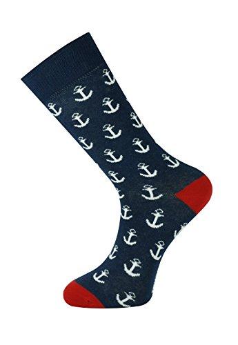 Mysocks tobillo calcetines grande armada ancla