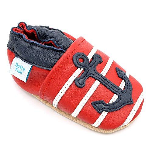 Zapatos de cuero suave para bebés