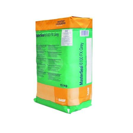 Membrana elástica impermeabilizante monocomponente para piscinas masterseal 6100 fx 15 kg