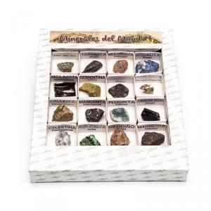 Caja minerales del mundo nº4