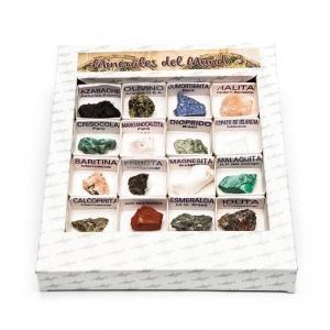 Caja de minerales del mundo nº3
