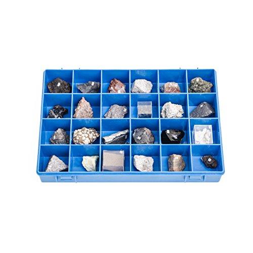 U72010 colección 24 piedras y minerales volcánicos