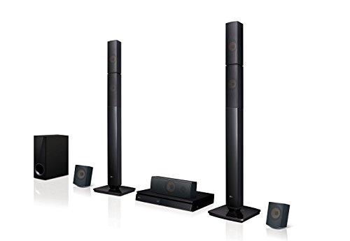 Lhb645n 5.1canales 1000w 3d negro sistema de cine en casa