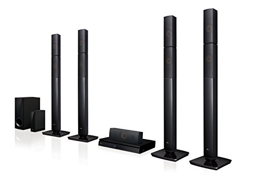 Electronics 5.1 3d blu-ray cine en casasystem lhb655nw negro bluetooth
