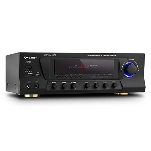 Amp-3800 usb 5.1 receptor surround home cinema