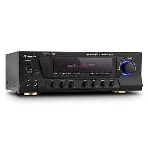 Amp-3800 usb 5.1 receptor surround home cinema