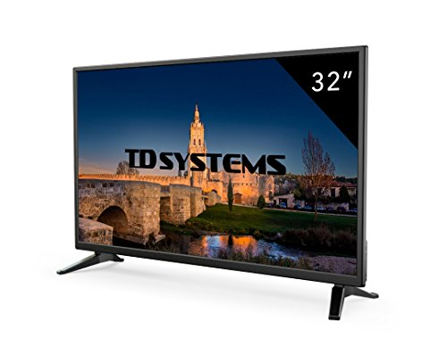 Televisores led hd 32 pulgadas td systems k32dlm7h