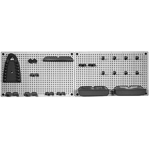 Kis kit 2 porta herramientas gris