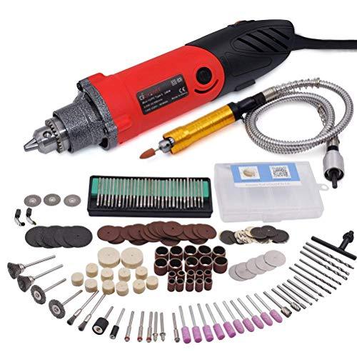 Herramienta rotativa multifunción 240w amoladora recta electrica con avanzado eje flexible y 170 accesorios para bricolaje herramientas