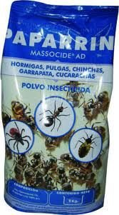 Polvo insecticida contra hormigas