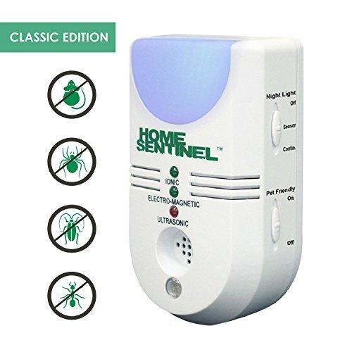 Original aspectek repelente ultrasonico antiplagas contra insectos