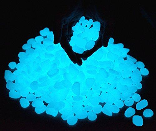 100 pcs guijarro luminoso