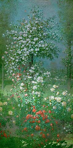 Impresión artística/póster: ernest quost roses