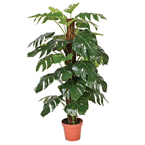 Planta artificial monstera 135 cm altura