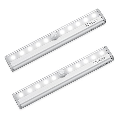 Lámpara led de armario sensor de movimiento luz clóset gabinete pasillo cocina