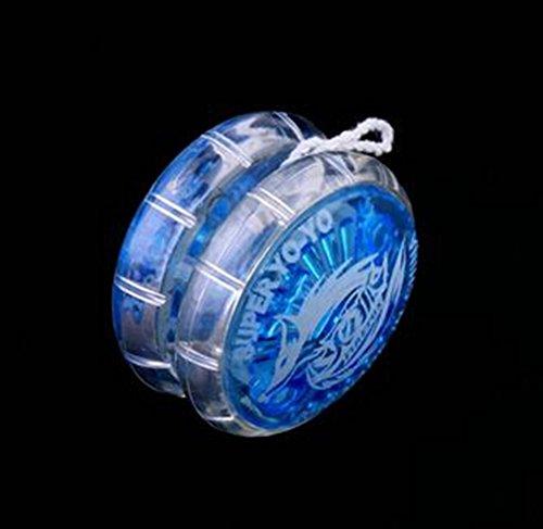 Transparente de yo-yo educación temprana rompecabezas juguetes tradicionales yo-yo juguetes para niños