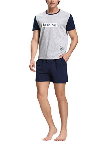 Pijamas hombre 100% algodón