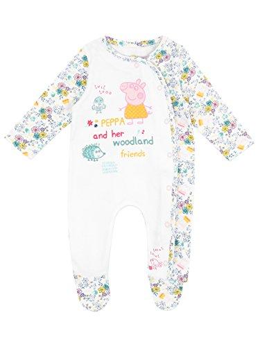 Pijama entera para niñas bebés