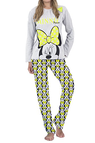 Pijama manga larga mujer disney minnie summer