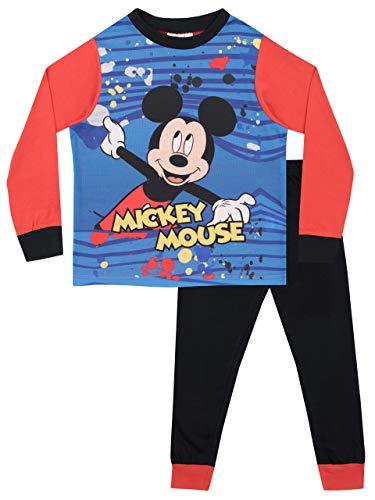 Pijamas de manga larga para niños mickey mouse 2-3 años