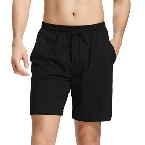 Pantalones de pijama para hombre cortos algodón