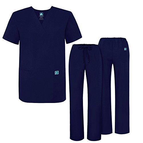 Uniforme médico unisex con casaca y pantalones