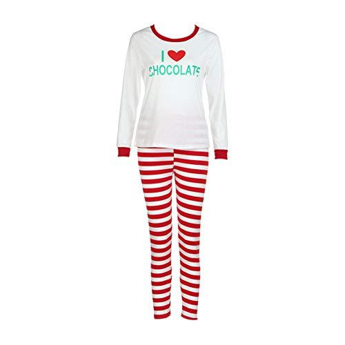 Conjunto pijamas familia navidad