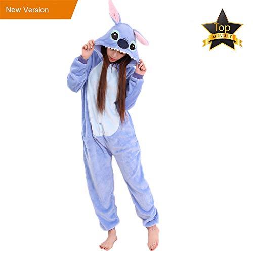 Pijama animale niños niña adulto mujer invierno kigurumi unicornio disfraz cosplay halloween y navidad