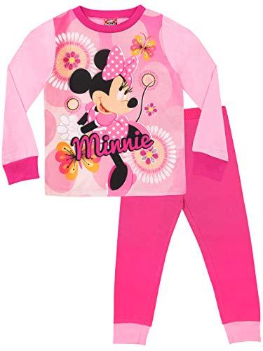 Pijamas de manga larga para niñas minnie mouse 18-24 meses