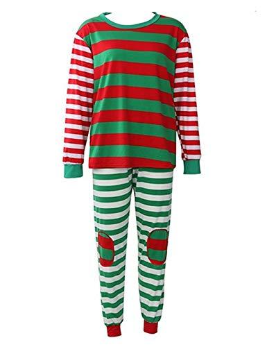 Conjunto de ropa familiar pijama a juego de navidad
