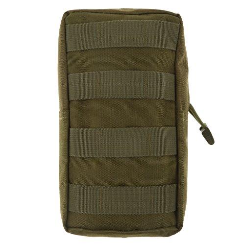 Molle bolsa para uso general táctico modular de accesorios de camuflaje militar bolsa