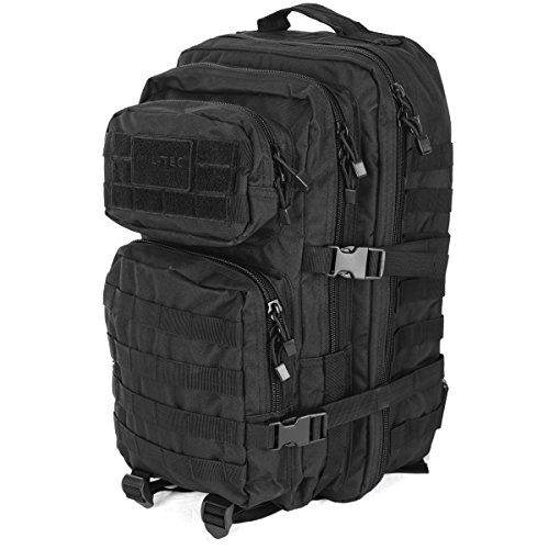 Military army patrol molle assault pack tactical combat rucksack backpack bag 36l black
