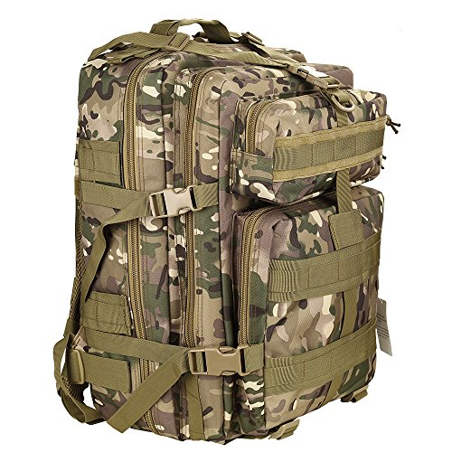 Mochila táctica impermeable de moda 28l para excursionismo montañismo senderismo y viaje al aire libre macuto militar y deportiva de alta calidad bolsa de viaje