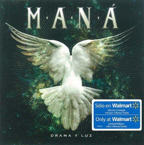 Mana drama y luz limited edition cd includes 3 bonus tracks: lluvia al corozon