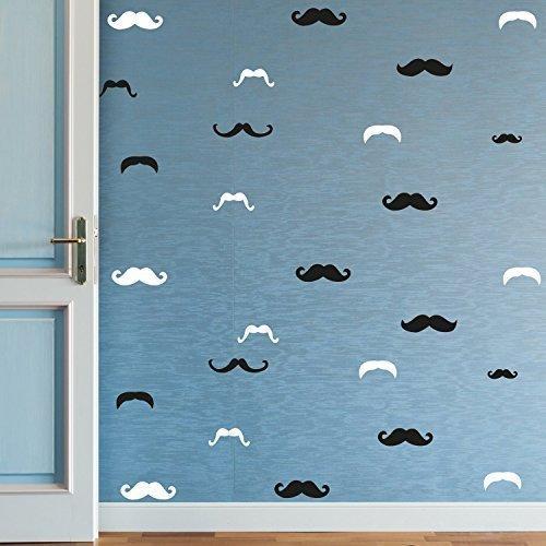 «bigote extraíble autoadhesivo oficina decoración del hogar pared pegatinas